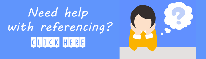 Need help with referencing?