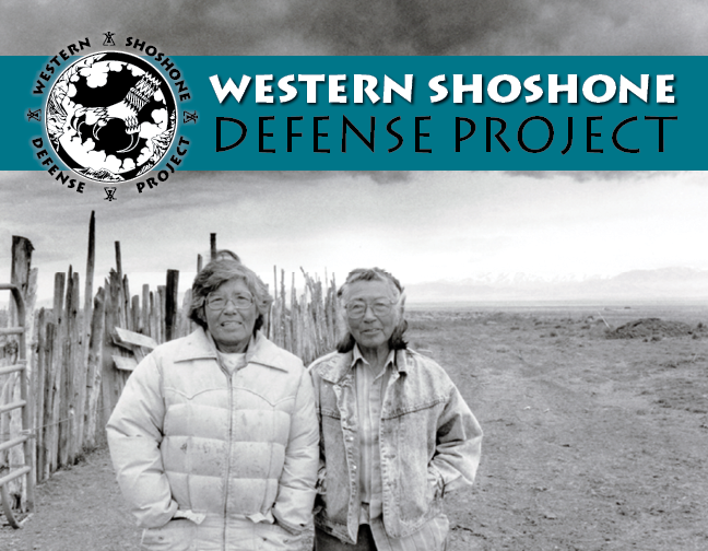 Western Shoshone Defense Project Records