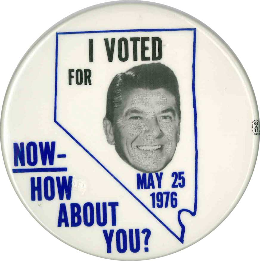 reagan button