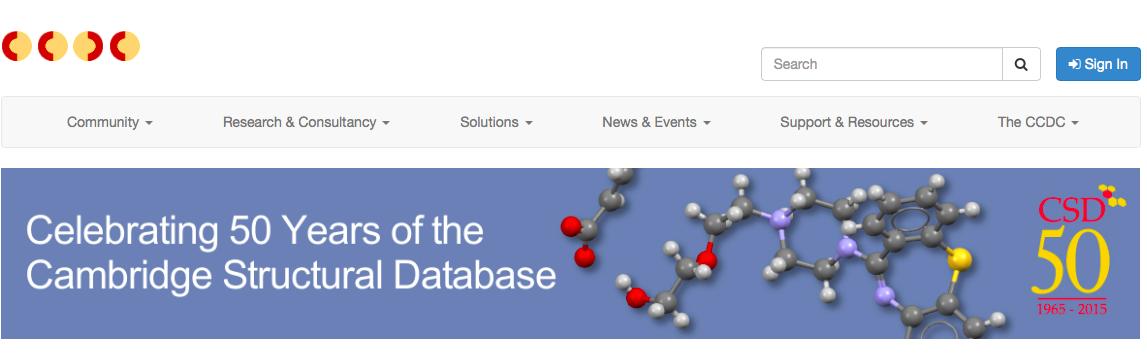 CSDC web page