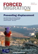 Front cover of Forced Migration Review