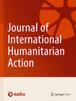 Front cover of Journal of International Humanitarian Action