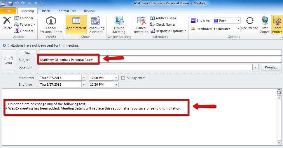 Q How do I use WebEx Productivitiy Tools in Outlook Answers