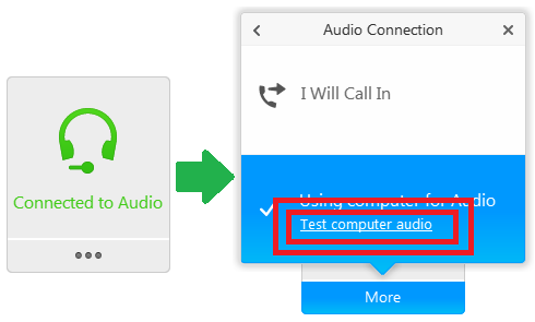 WebEx: I can't hear anything! How do I connect to the audio? - Answers
