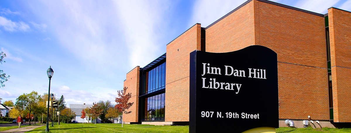 Jim Dan Hill Library