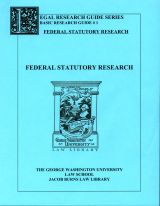 Federal Statutory research guide