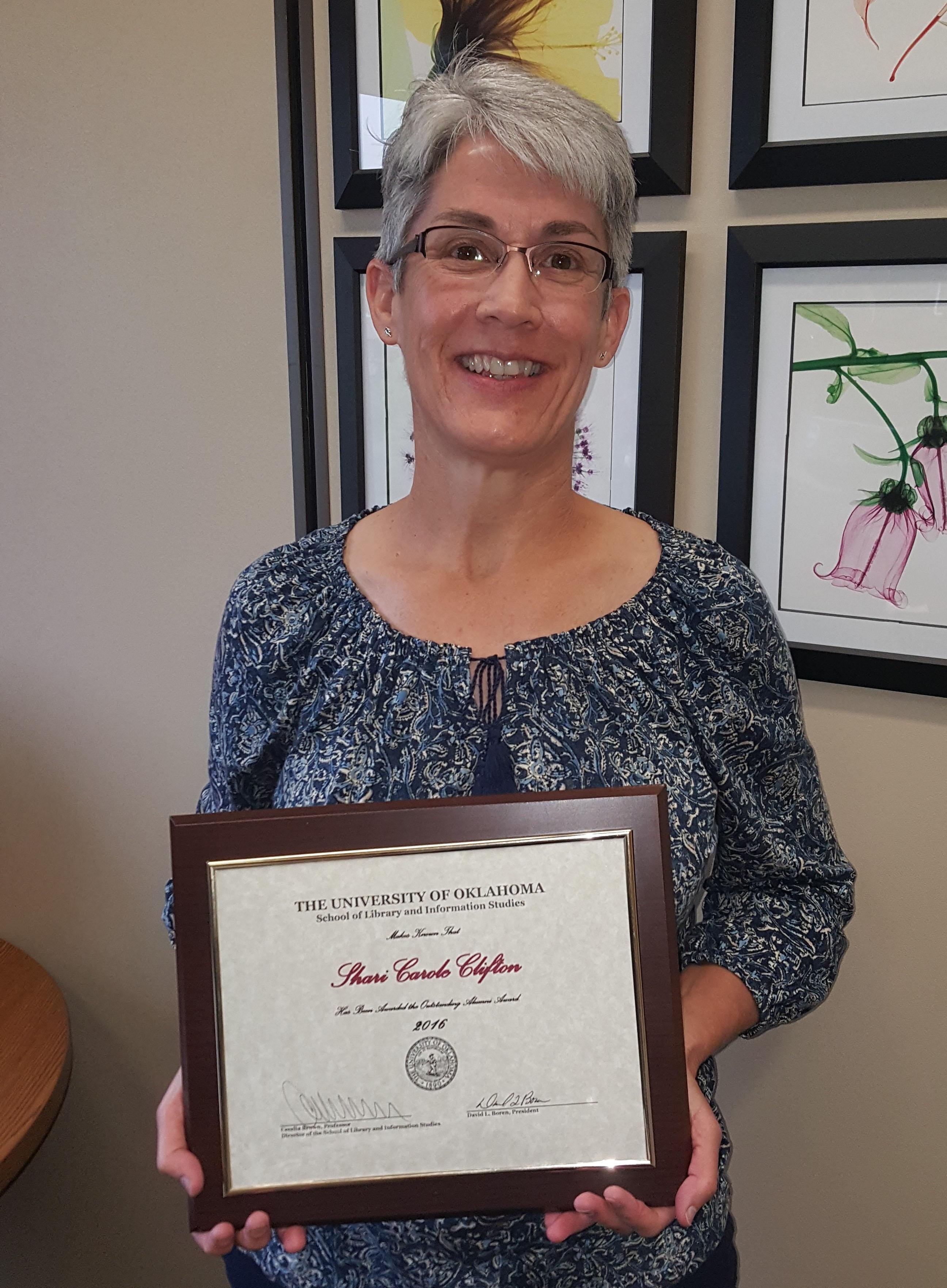 Shari Clifton Outstanding Alumni