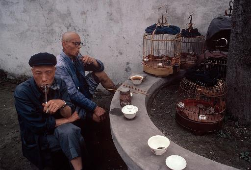 CHINA Sichuan province tea house