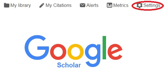 Home google scholar libguides at monmouth college connect google scholar to hewes library resources stopboris Choice Image