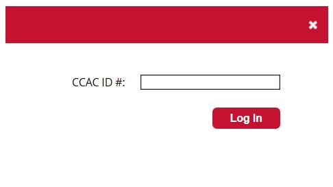 Login Panel: Enter ID number