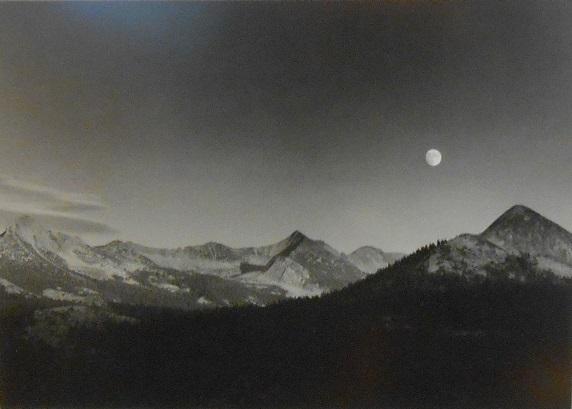 Ansel Adams, Autumn Moon