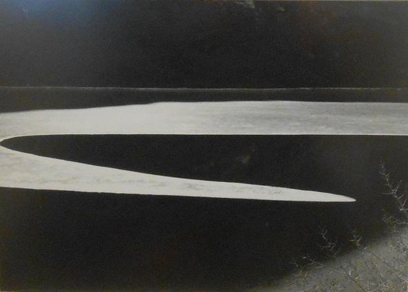 Ansel Adams, Ice on Ellery Lake