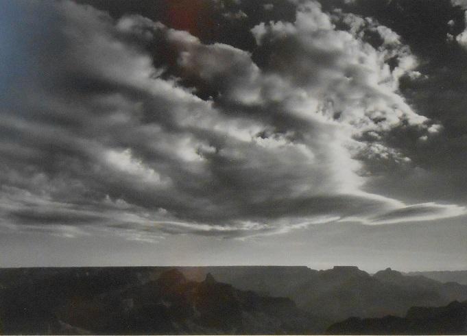 Ansel Adams, Sunrise From South Rim