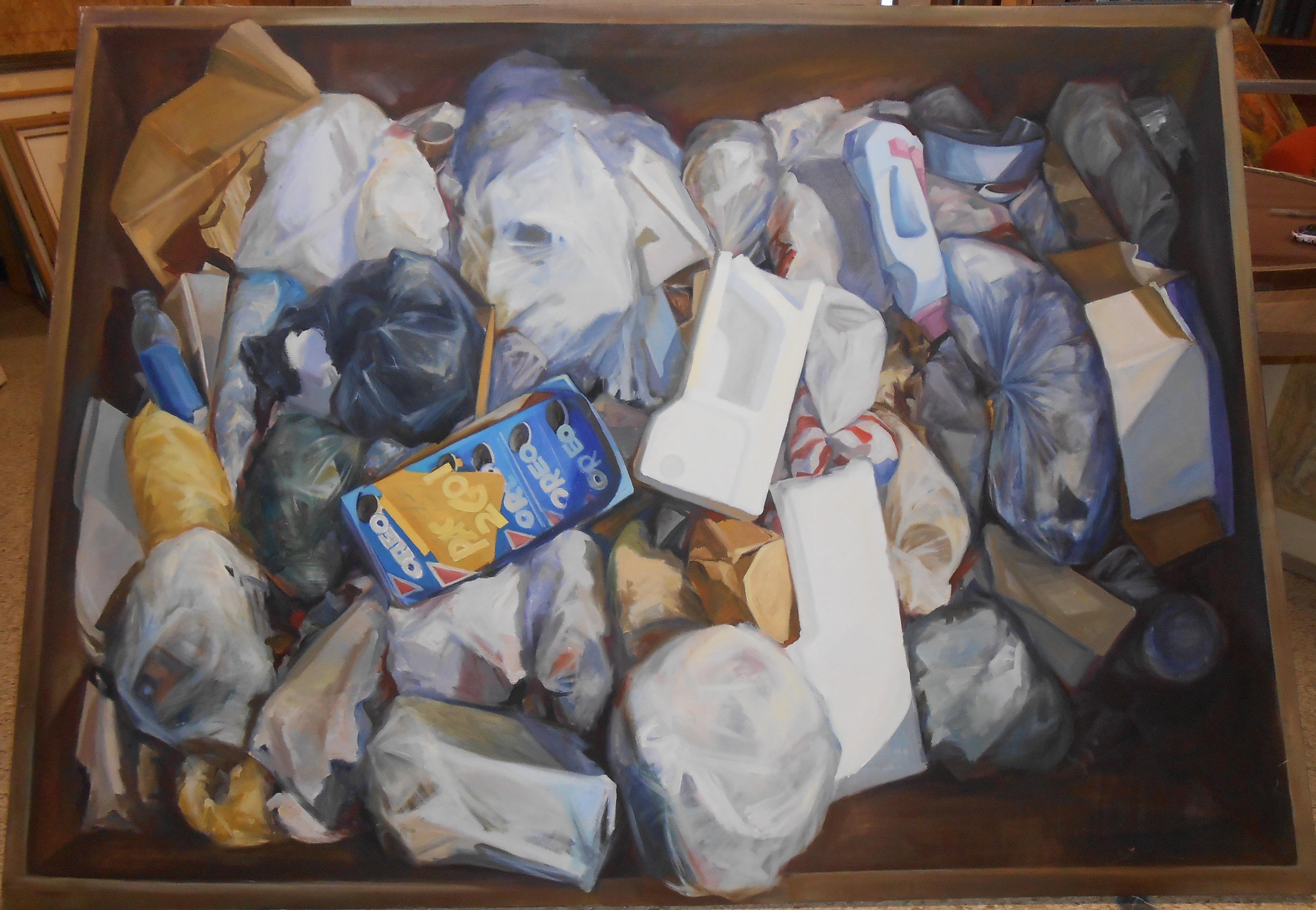 Luzhen Qiu, Garbage III