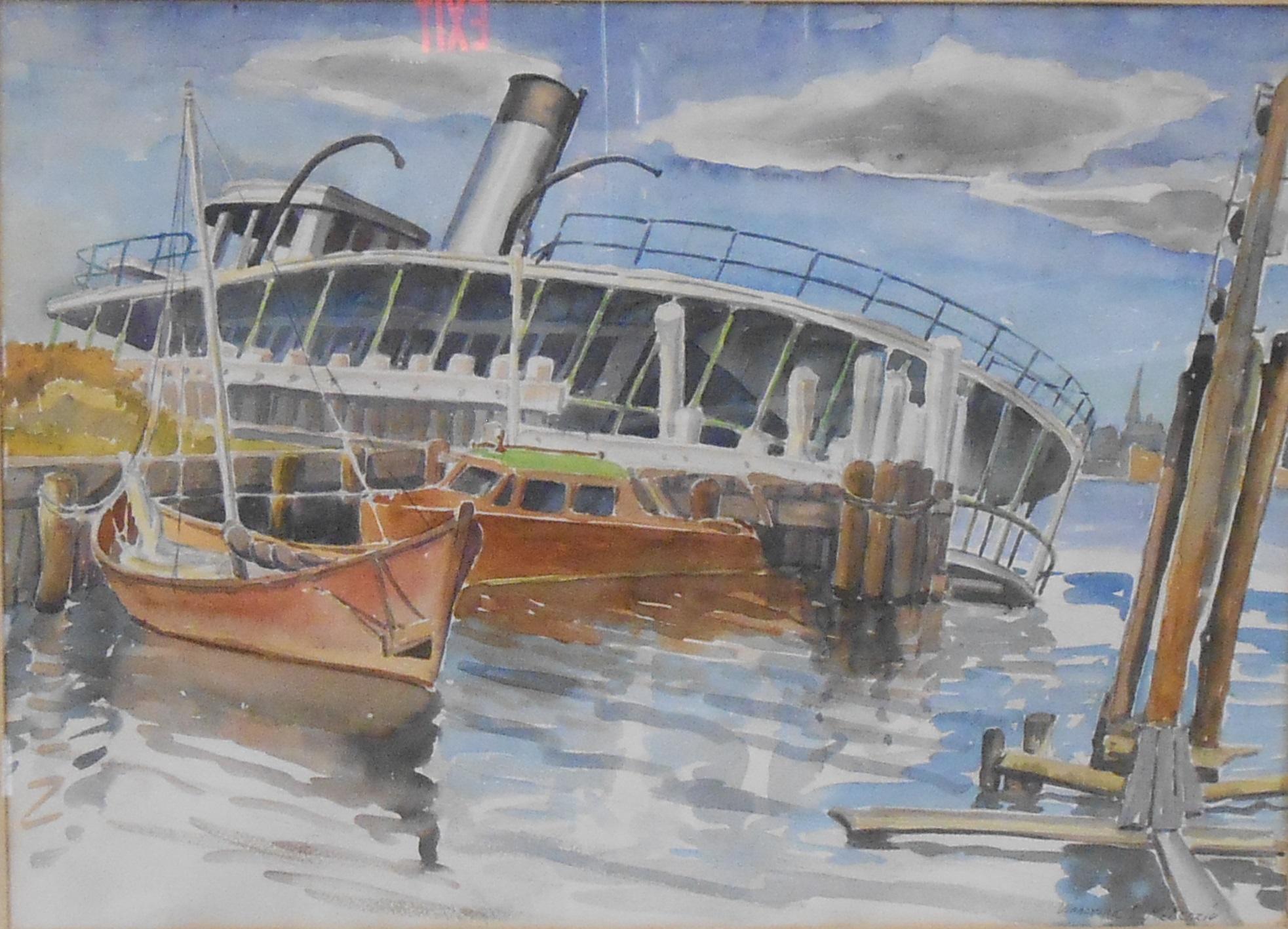 Vinnorma Shaw Mckenzie, Boat