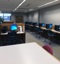 Picture of computer stations