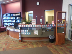 Midland Library interior