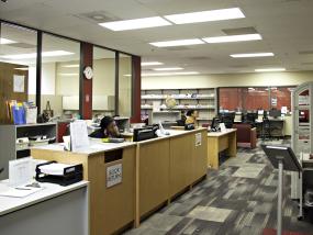 Warren Library interior