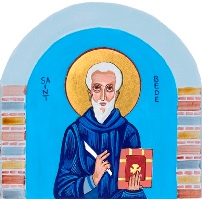 Image of Venerable Bede from Charter