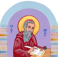Image of St. Jerome from Charter