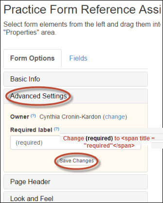 Form Options - How To: Create a Form Using LibWizard - Guides at ...