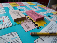 Photo of Careers board game