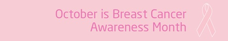 October is Breast Cancer Awareness month logo