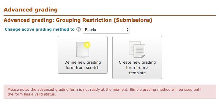 Using Rubrics for Assignments - Moodle Tutorials - LibGuides at