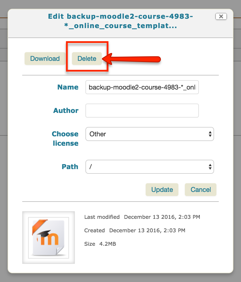 Backing up your course to Box - Moodle Tutorials - LibGuides