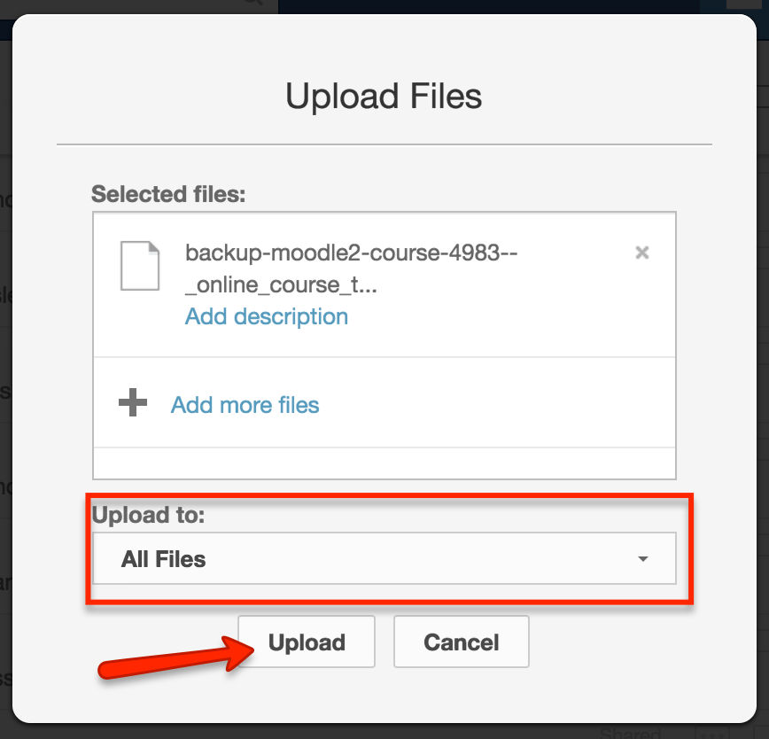 upload files to box