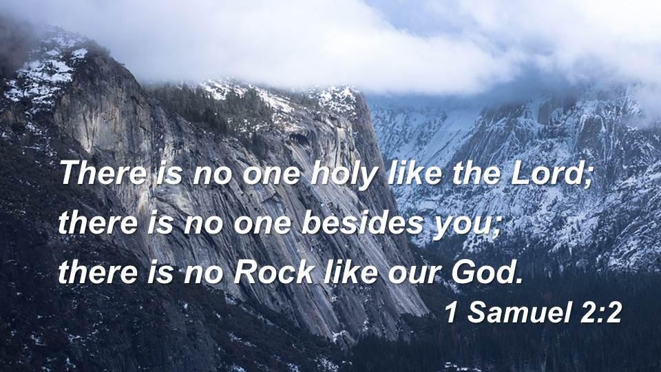 I Samuel 2:2