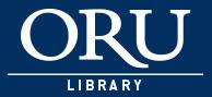 ORU Library logo