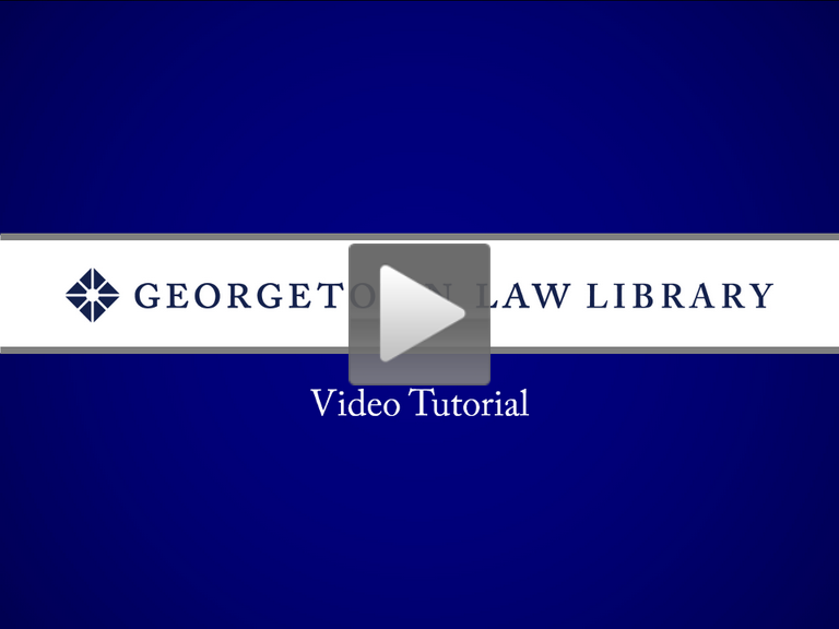 Case Law Research Tutorial