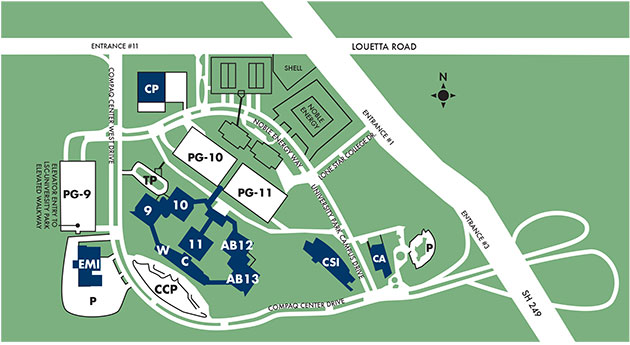LSC-UP campus map
