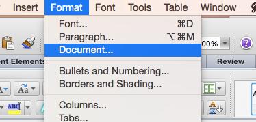 Mac Format Document screenshot