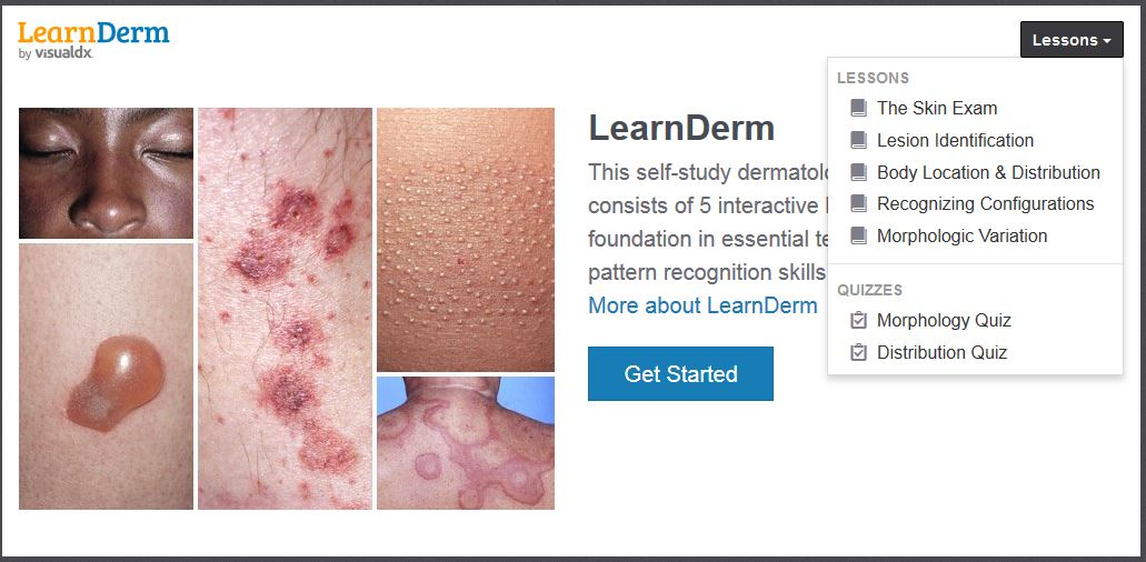 Learn Derm Tutorial