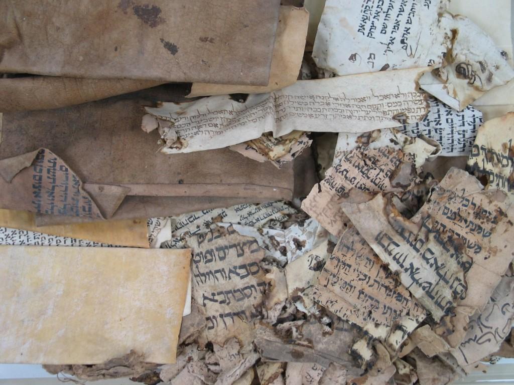 genizah papyrus montage