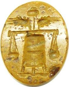 yellow jasper antonine intaglio