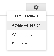 Google Advanced Search