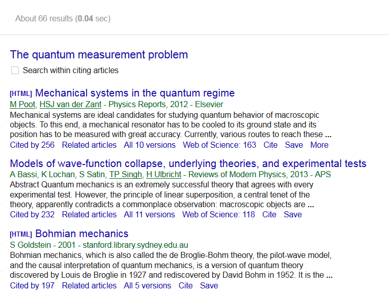 This image is a screenshot of the Google Scholar results list.