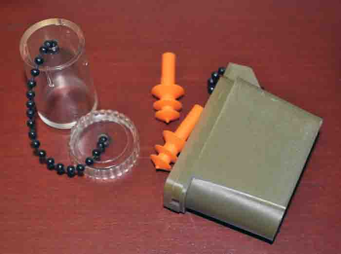 Ear Plug Cases, 1960s through 1980s