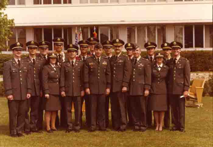 Cadet Commissioning Day, 1970s