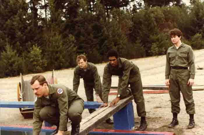 Leader Reaction Course, Ft. Lewis, 1980s