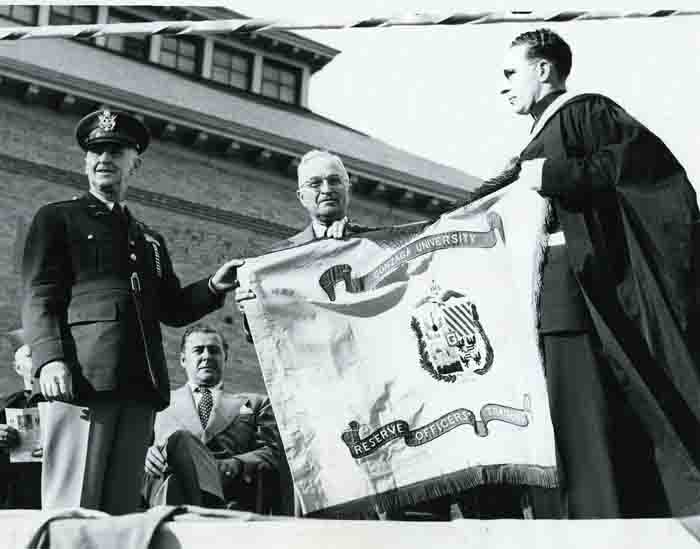 President Harry S. Truman's Visit to Gonzaga, May 11, 1950