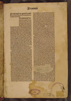 book stamps in Antoninuns, Summa Theologica (1494)