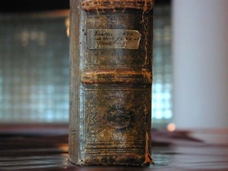 Title on spine of Bruno Psalter