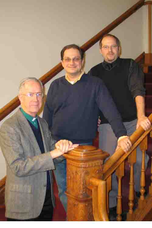 Classical Civilization Faculty: Fr. Kenneth Krall, S.J., Dr. David Oosterhuis, and Dr. Andrew Goldman, 2010 – 2011