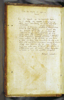 Melanchthon's autograph commentary, Luther, Opera Omnia, vol. 2