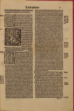 St. Thomas, Commentary on DE ANIMA (1518), fol. 2