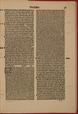 St. Thomas, Commentary on DE ANIMA (1518), fol. 38